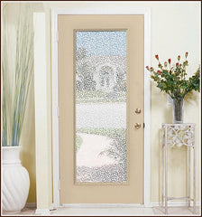 Pebble Static Cling Clear Decorative Window Film Window