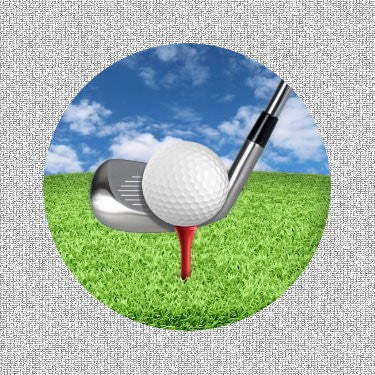 "Golf Screen Door Saver Magnets (5.75"" X 5.75"") - Window Film World"
