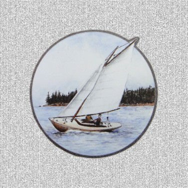 "Sailboat Screen Door Saver Magnets (5.75"" x 5.75"") - Window Film World"