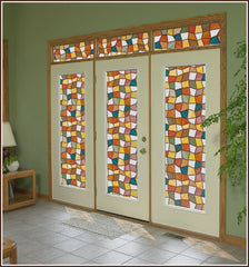 Savannah Privacy Stained Glass Window Film - Window Film World