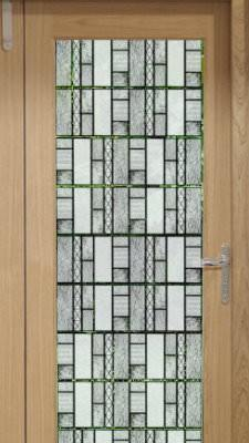 Static Cling Window Film Privacy Stained Glass