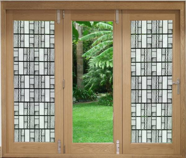 Textured Glass  | (Static Cling ) - Window Film World