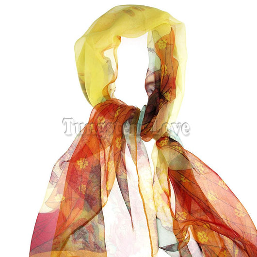 165cm New fashion Ladies scarf Chinese Elegant style Beauty Spring autumn silk chiffon scarves shawl women Gifts panuelos mujer