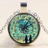 2015 New Arrival Vintage Jewelry Clock Picture Necklaces 3D Pendant Fashion Charming Ethnic Necklace For Men Women Time