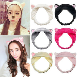 1PC Cute Cat Ears Headband  For Girls Party Gift Headdress Hair Accessories Tool