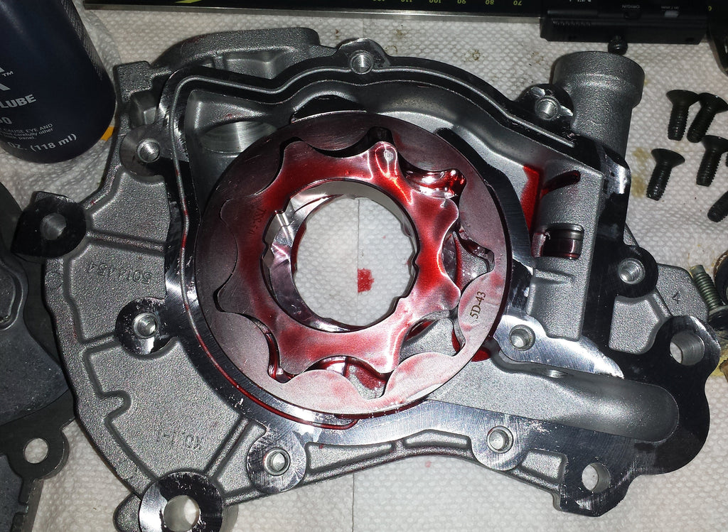 Billet Oil Pump Gear Installation