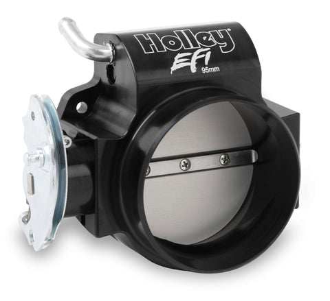 Holley EFI Billet 95MM LS Throttle Body w/ Low RPM Taper
