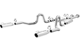 Magnaflow Stainless Steel Cat-Back Exhaust for 1999-2004 Ford Mustang GT, Bullitt, Mach 1