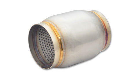 "Vibrant Performance 3.0"" x 5"" Stainless Steel Race Muffler"