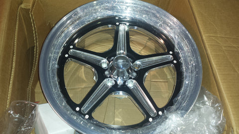 Billet Specialties Street Lite Black Wheels (Pair of two)