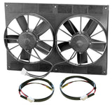 Spal Automotive Dual Electric Fan Package