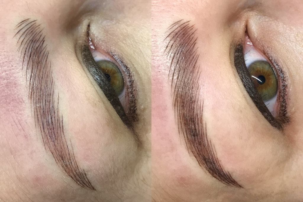 Difference between Microblading Only and Mircoblading and Shading