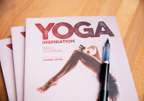 Not Just Another Writing Journal Filled With Blank Lined Pages Instead Enjoy Full Color Yoga Illustrations On Every Alternate Spread