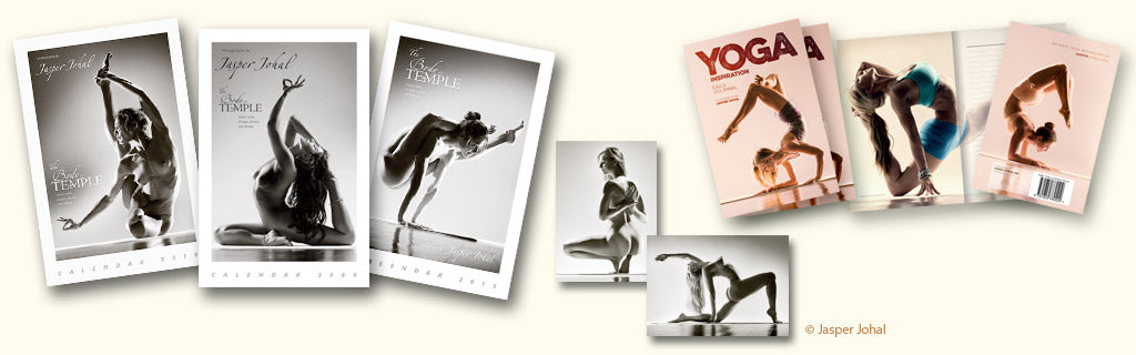 Jasper Johal's yoga art nude calendars and more photography work