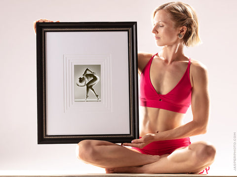 Framed Body as Temple greeting card