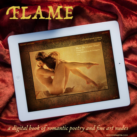 #3.  FLAME Volume One - Love Poems + Art Nudes