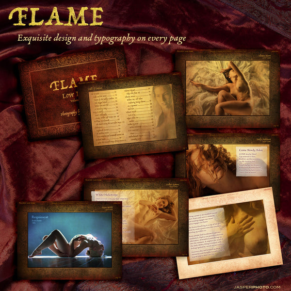 FLAME Volume One - Love Poems + Art Nudes