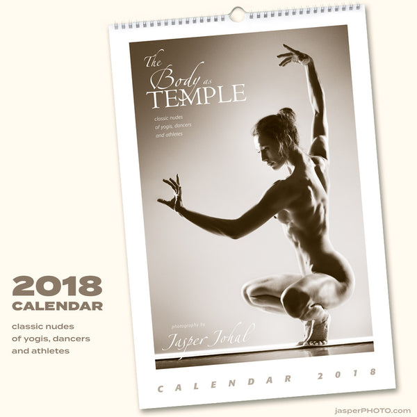 Body as Temple 2018 CALENDAR