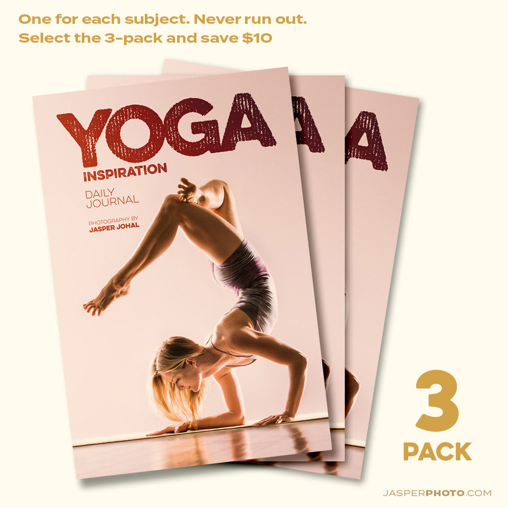 Bundle #G: YOGA Writing Journals - THREE PACK