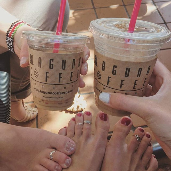 Shelby's friends & Laguna Coffee