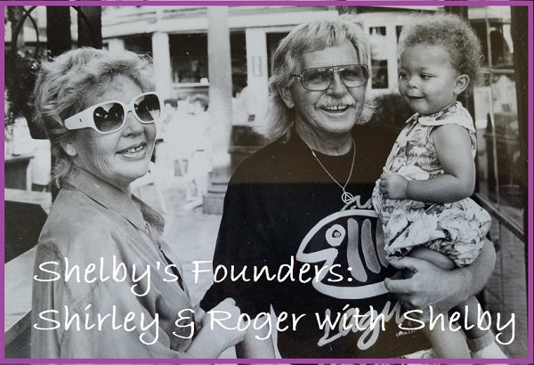 Founders Shirley & Roger Elliott with Shelby 1991