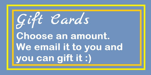 Gift Cards ($15 to $100)