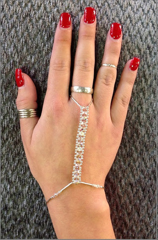 Hand Jewelry - Crystal AB