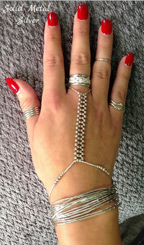 Hand Jewelry - Sterling Silver