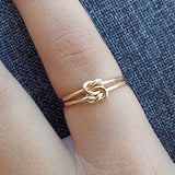 Love Knot Ring - 14K Gold-fill