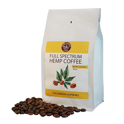 Full Spectrum Hemp Coffee - Colombian Supremo