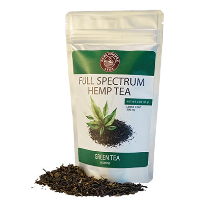 Full Spectrum Hemp Green Tea - 300mg