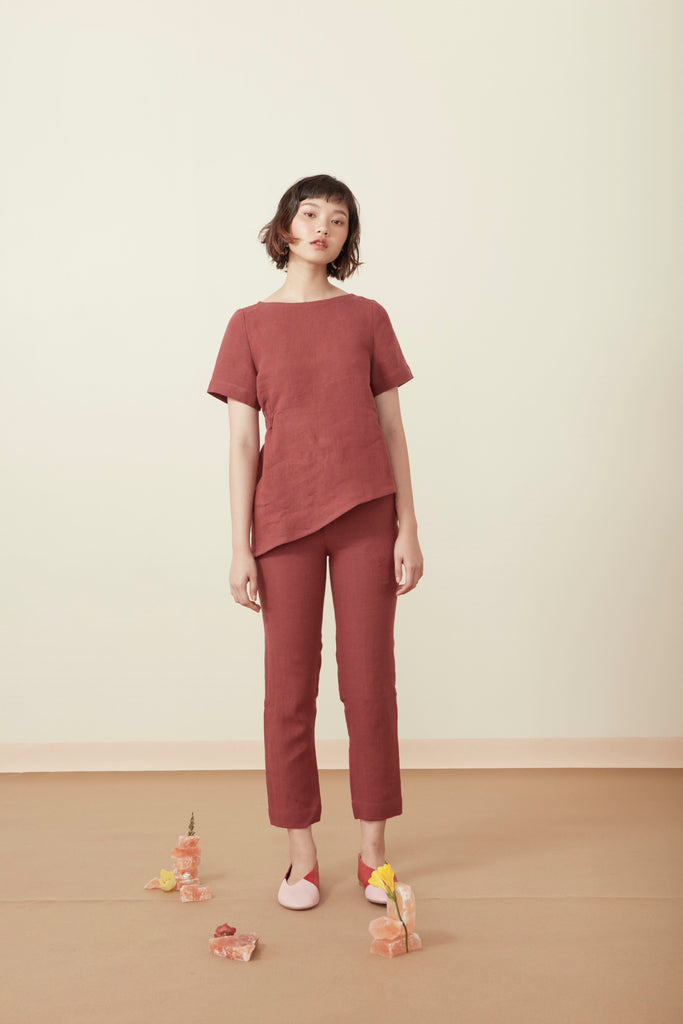 ASYMMETRY BLOUSE SS19