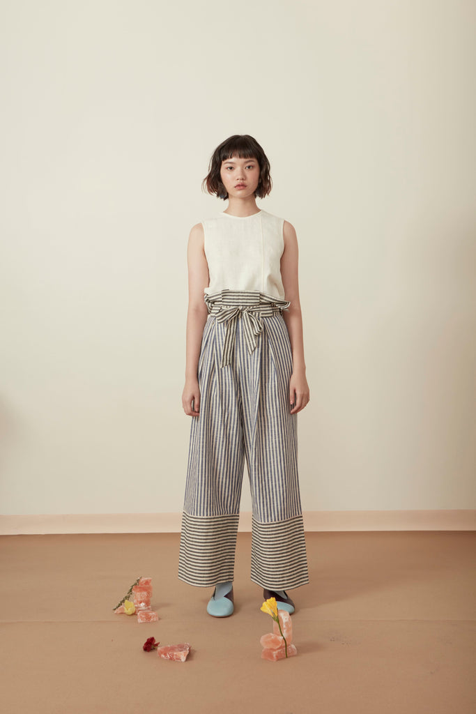 DOUBLE STRIPE TROUSER SS19