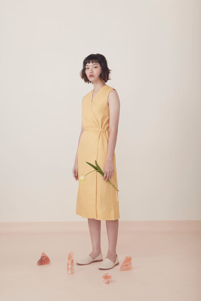 TIE-WAIST DRESS SS19