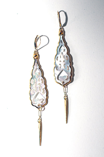 FILIGREE LEAF - Mother of Pearl Collection