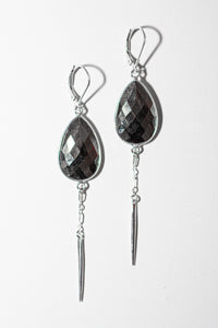 Pyrite Stunners - Large Teardrop