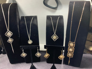 Caged Pearl Necklace Collection
