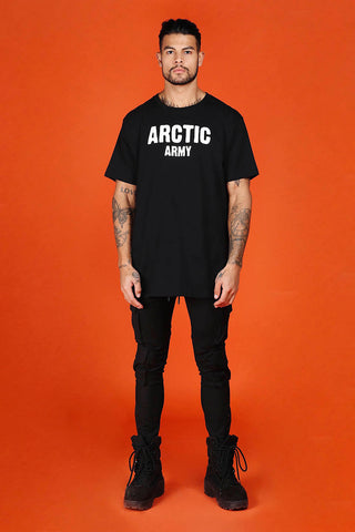 ARCTIC T SHIRT - BLACK/ REFLECTIVE MEN'S