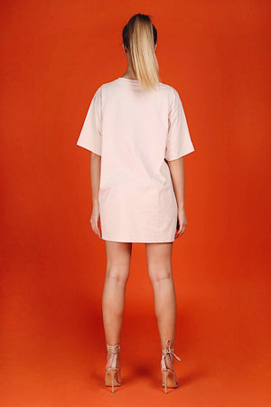 ARCTIC T SHIRT - PINK/ PEACH LADIES