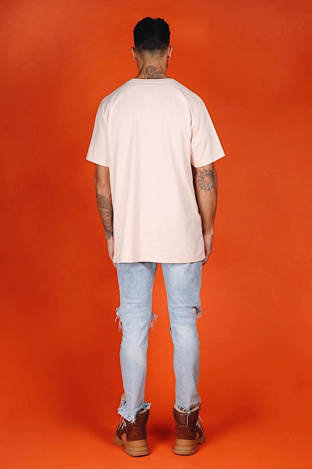ARCTIC T SHIRT - PINK/ PEACH MEN'S