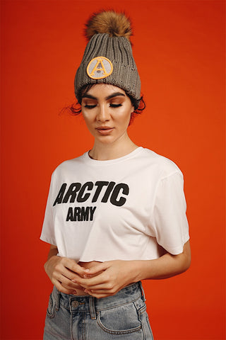 ARCTIC BOBBLE (DARK GREY/NATURAL)