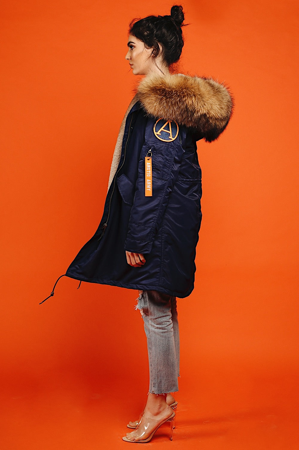 DARK NAVY PARKA