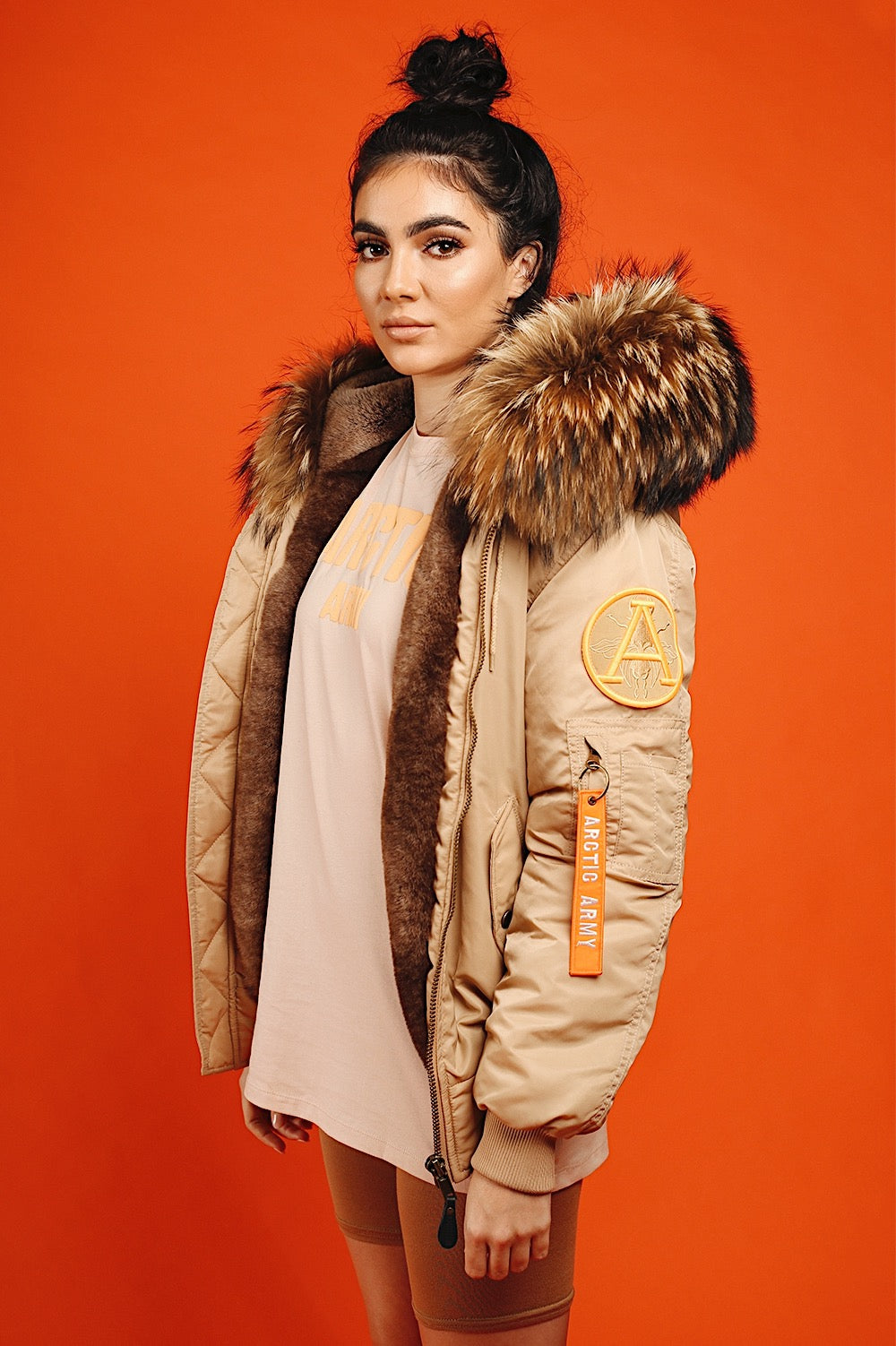 FAUX SAND BOMBER