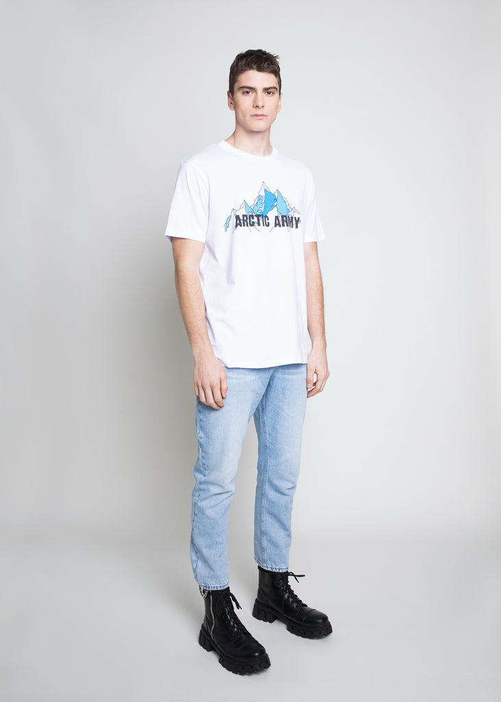 MOUNTAINS T-SHIRT - WHITE