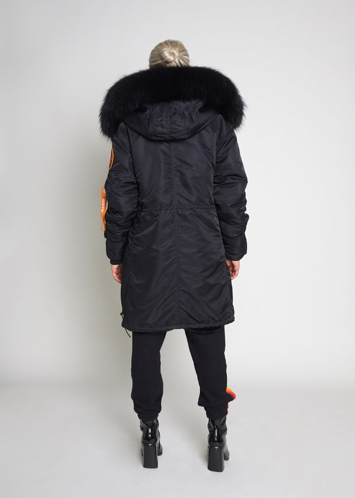 NEW PARKA - BLACK/BLACK