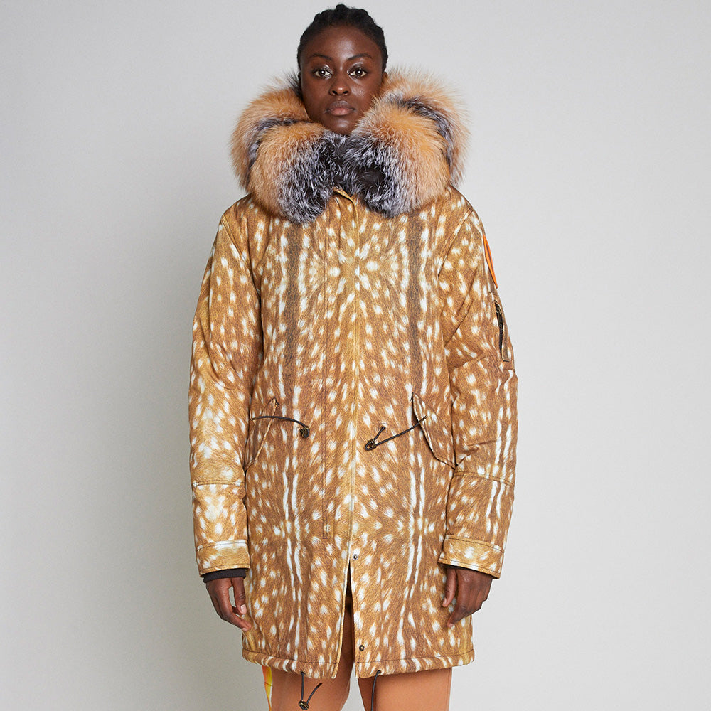 PARKA COAT - ARCTIC DOE