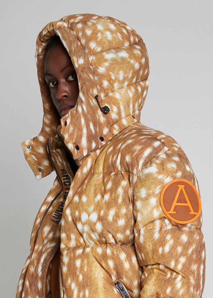 PUFFER JACKET - ARCTIC DOE