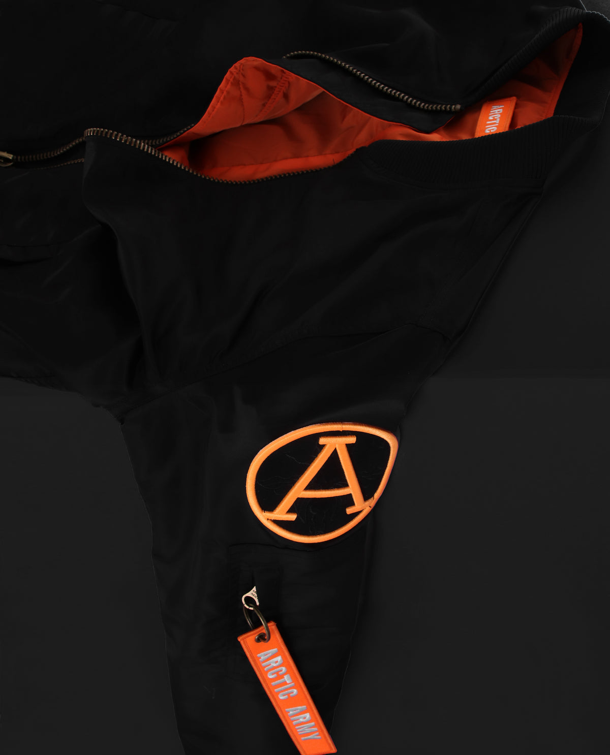 LIGHT FLIGHT BOMBER BLACK/ORANGE LADIES