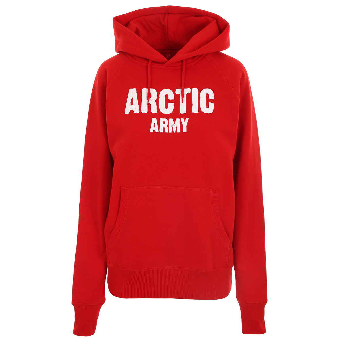 ARCTIC HOODIE - RED / WHITE