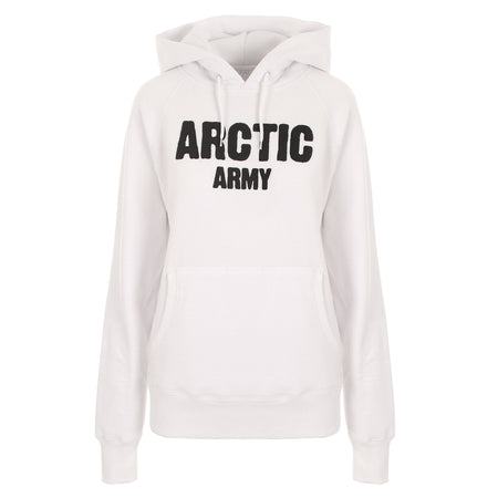 ARCTIC HOODIE - WHITE/ BLACK LADIES